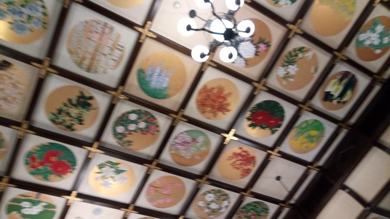 小樽市 貴賓館(旧青山邸)、天井