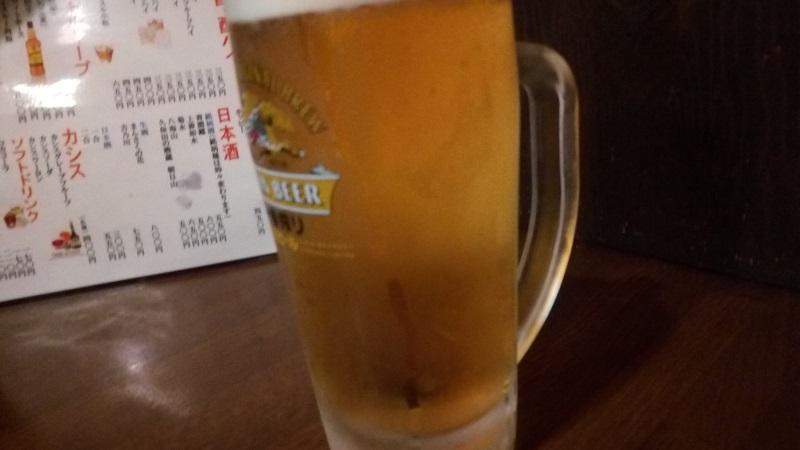 呑福で飲んだビール