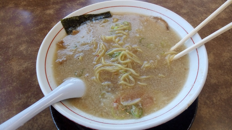 くるまやラーメン 東松山店(こってり中華)