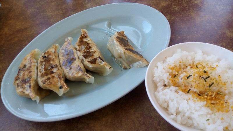 くるまやラーメン 東松山店(ランチセット・餃子、ライス)
