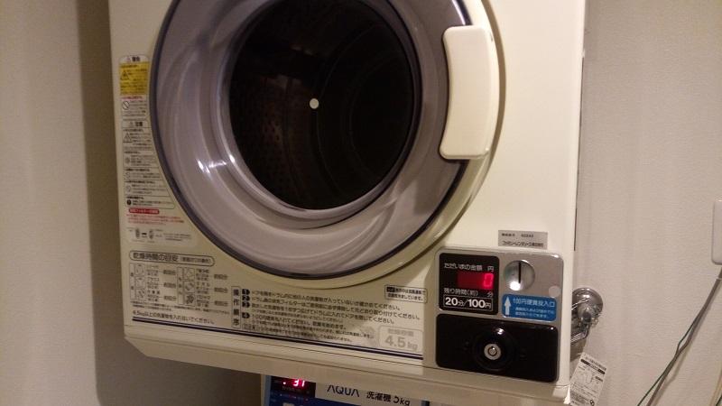 熊谷ロイヤルホテルすずき、コインランドリー(乾燥機)