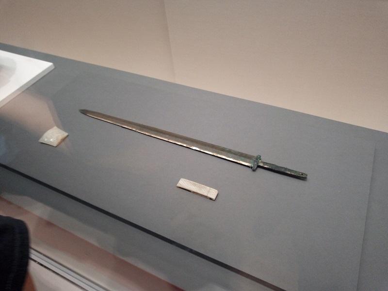 劉勝の墓から出てきた鉄剣