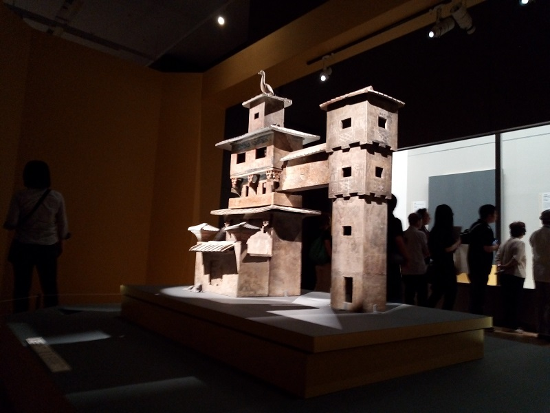 三国志時代の邸宅の模型