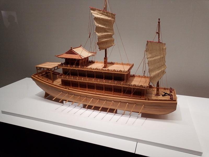 赤壁当時の船の再現