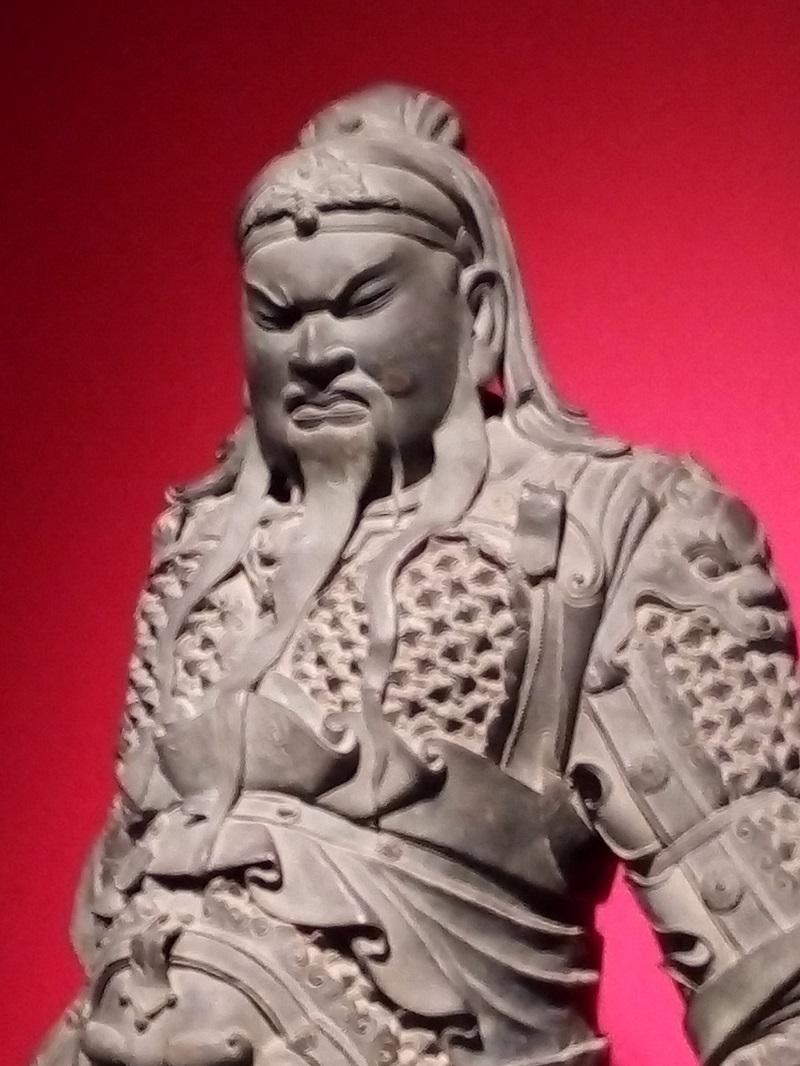 三国志展(関羽の像2)