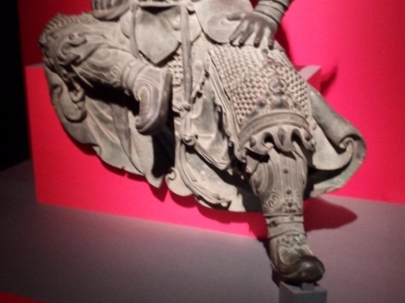 三国志展(関羽の像3)