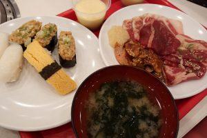 すたみな太郎(東松山店)で食べた料理