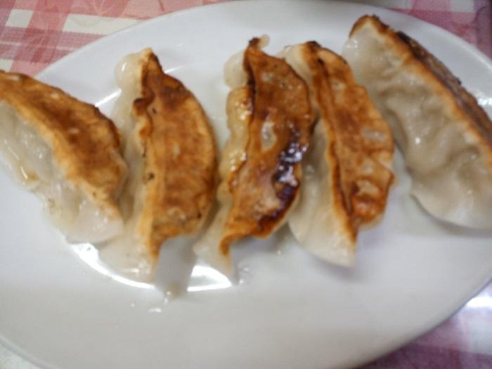 華門で注文をした餃子