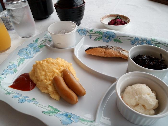 マロウドイン熊谷の朝食会場(和食)