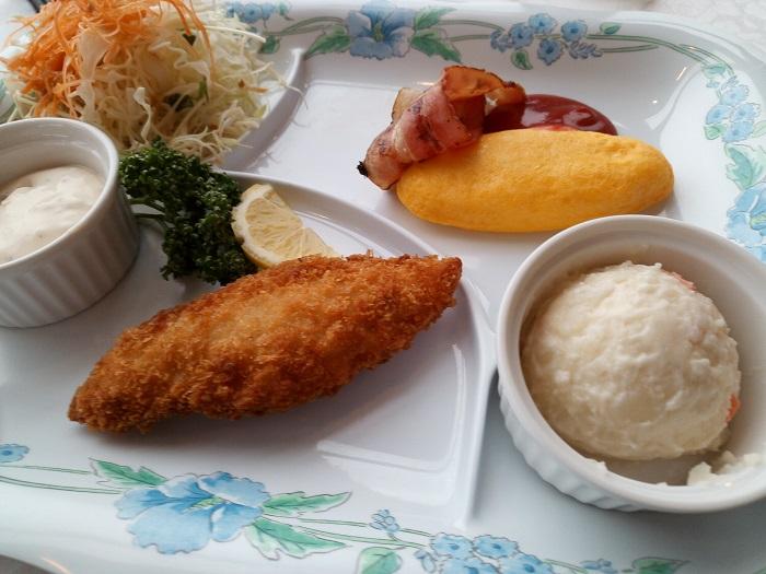 マロウドイン熊谷の朝食会場(洋食)