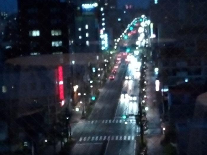 マロウドイン熊谷のスカイラウンジからの景色