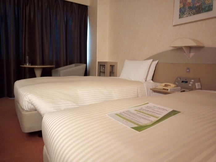 川越プリンスホテルの客室