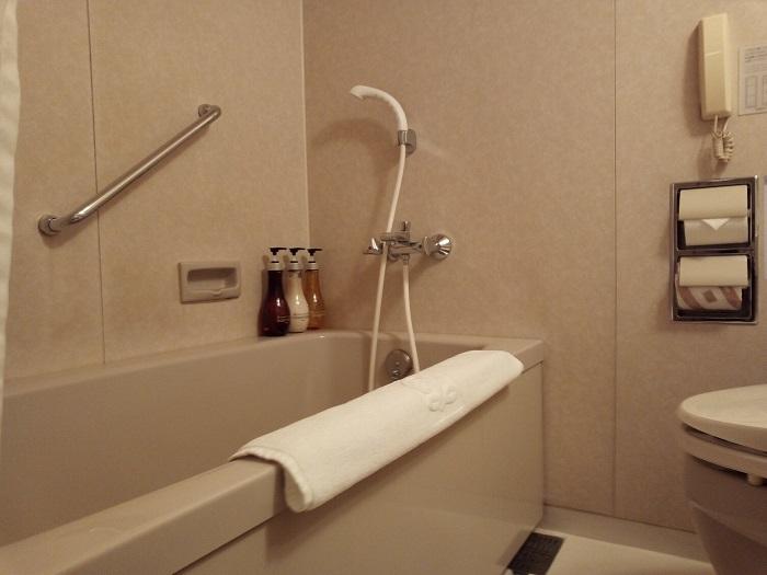 川越プリンスホテルの風呂場