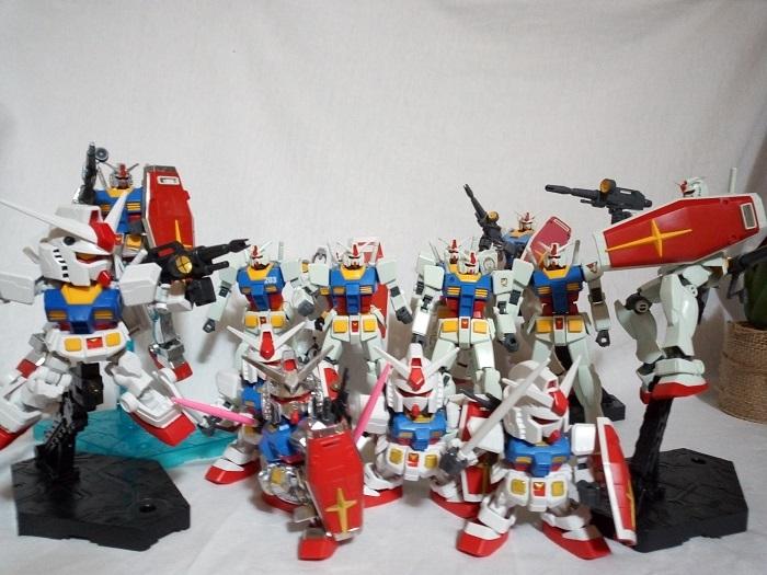 RX78-2集合写真1